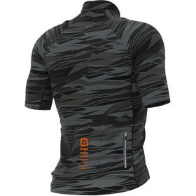 Alé Cycling Graphics PRR Rock Maglietta a maniche corte Uomo, black/fluo orange